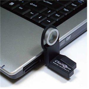 USB接続するだけで世界のTVが鑑賞できる USBネットTV BLACK