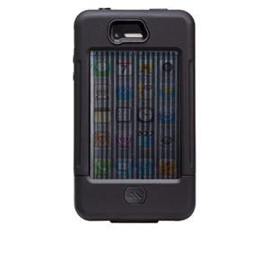 【訳あり・在庫処分】米国軍用規格 iPhone4/4Sケース TANK CM016801 ブラック×ブラック