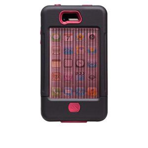 米国軍用規格 iPhone4/4Sケース TANK CM016803 ブラック×ピンク - 拡大画像