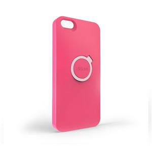 【iPhone5専用ケース】Snap In (スナップイン)P5CSN-PK◆ダークピンク - 拡大画像