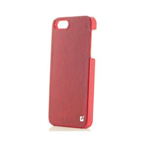 【iPhone5専用ケース】G LEATHER (ジーレザー)P5CL-RD◆レッド - 拡大画像