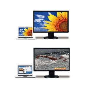 【大画面もクリアに!】USB接続HDMI出力アダプター スパイダー3.0 (SD-U3DH)  - 拡大画像