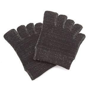 銀繊維使用 トゥーソックス 5足組 ブラック