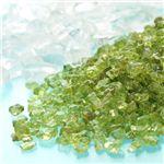 ペリドット浄化チップ(ヒマラヤ水晶付き)