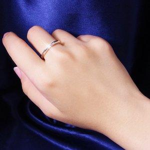 甲丸ダイヤリング 指輪 17号 f04