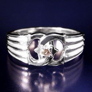 エックスダイヤリング 指輪 9号 h03