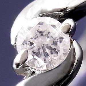 ダイヤリング 指輪Sラインリング 15号 f04