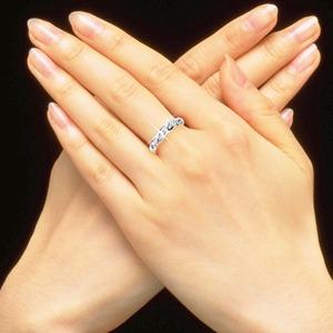 ダイヤリング 指輪ツイストリング 17号 f04