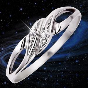 ダイヤリング 指輪 17号 h03