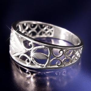 アンティークダイヤリング 指輪 15号 h03