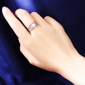 アンティークダイヤリング 指輪 15号 f04