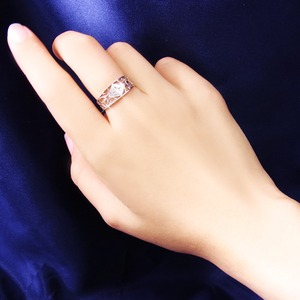 アンティークダイヤリング 指輪 25号