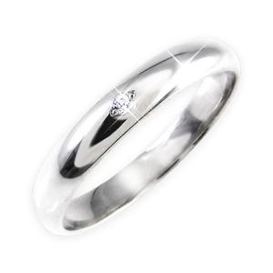 ダイヤリング 指輪 甲丸リング 19号