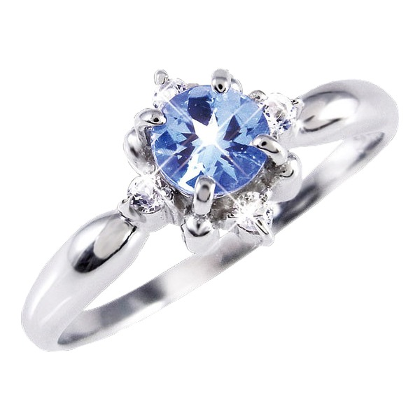 タンザナイト&ダイヤリング 指輪 11号f00
