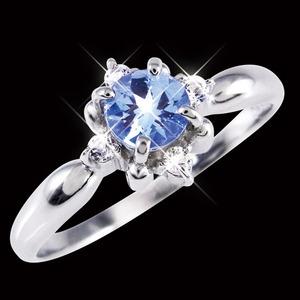 タンザナイト&ダイヤリング 指輪 17号