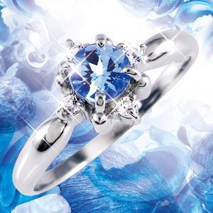 タンザナイト&ダイヤリング 指輪 19号 f05