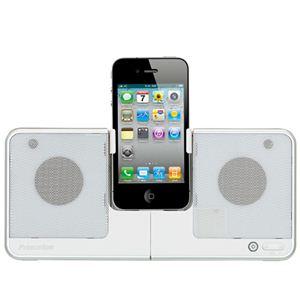 Princeton(プリンストン) 薄型iPod/iPhoneスピーカー PSP-IS2W ホワイト - 拡大画像