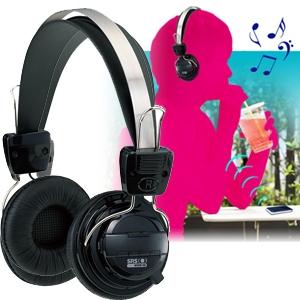 【8月30日まで期間限定特価】Bluetooth version2.1対応 ステレオ再生ワイヤレスヘッドフォン ブラック