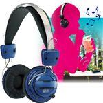 9,334円【8月30日まで期間限定特価】Bluetooth version2.1対応 ステレオ再生ワイヤレスヘッドフォン ブルー