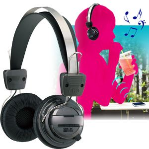 【8月30日まで期間限定特価】Bluetooth version2.1対応 ステレオ再生ワイヤレスヘッドフォン ブラウン