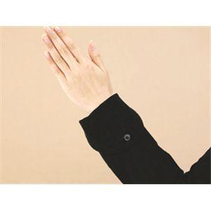 UVシンプルパーカー(レディース) ブラック 【Mサイズ】の写真3