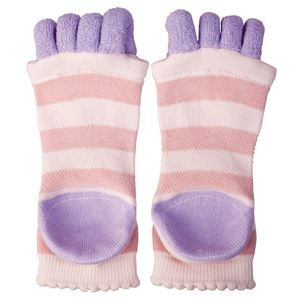 眠れる森の5本指かかとソックス ピンク【2個セット】の関連商品4