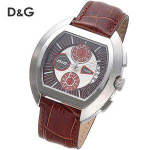 D&G HIGH SECURITY クロノグラフ レザーウォッチ DW0213