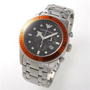 アルマーニ 腕時計 エンポリオ・アルマーニ ブレスウォッチ AR0552/オレンジ