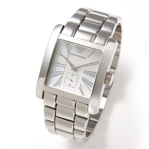 アルマーニ 腕時計 エンポリオ・アルマーニ メンズウォッチ AR0182/スクエア(ブレス)