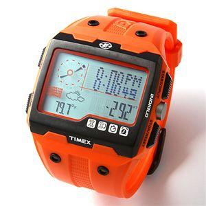 TIMEX(タイメックス) Expedition WS4TM メンズ ラバーベルト ウォッチ T49761/オレンジ