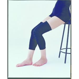 発熱繊維エクス使用 あったかサポーター4枚組 ひざ用 ブラック