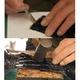 【クロコダイル革】QuoVadis Exective対応カバー:スエード(茶) 写真5