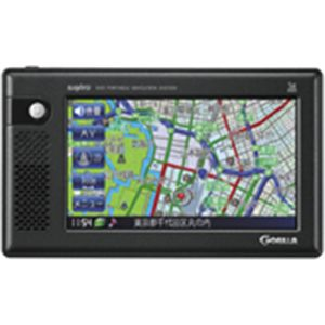 SANYO サンヨー 2GB SSDポータブルナビゲーション NV-SD210DT - 拡大画像