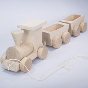 白木の貨物列車 - 拡大画像