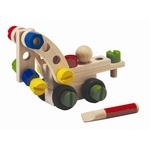 コンストラクションセット30 子どもたちが創造力を活かして、さまざまなタイプの車を作って遊ぶ事ができます(*^^)vこのパーツは簡単に組み立てたり分解でき想像したどんな形でも作る事ができます♪