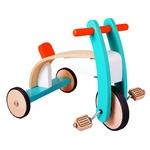 子供がハンドルを動かすことによって、バランスと力を養うことができます♪ぜいたくで完璧な三輪車です(^◇^)