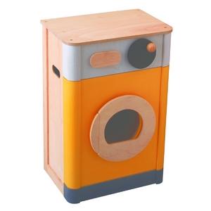 ★PLAN TOYSの木製玩具(木のおもちゃ)★3437★ 洗濯機 - 拡大画像