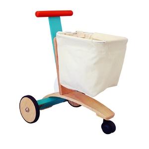 ★PLAN TOYSの木製玩具★3426★ ショッピングカート