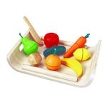 PLAN TOYS(プラントイ) ★木製玩具(木のおもちゃ)★3416★ 詰め合わせフルーツアンドベジタブル