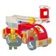 お孫さんの誕生日プレゼントに 木で作られたおもちゃ PLAN TOYSの消防車 写真1