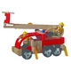 ★PLAN TOYSの木製玩具(木のおもちゃ)★6310★ 消防車 写真2