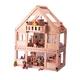 ★PLAN TOYSの木製玩具(木のおもちゃ)★7110★ マイファーストドールハウス 写真2