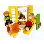 ★PLAN TOYSの木製玩具(木のおもちゃ)★7153★ 公園プレイグラウンド