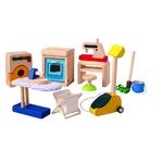 ★PLAN TOYSの木製玩具(木のおもちゃ)★9710★ ハウスホールドアクセサリー