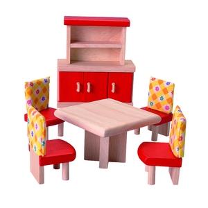 ★PLAN TOYSの木製玩具(木のおもちゃ)★7306★ カラーダイニング