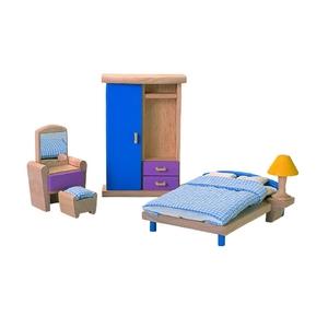 PLAN TOYS(プラントイ) ★木製玩具(木のおもちゃ)★7309★ カラーベッドルーム - 拡大画像