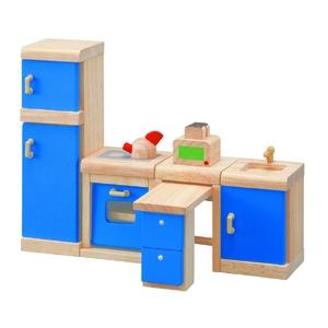 PLAN TOYS(プラントイ) ★木製玩具(木のおもちゃ)★7310★ カラーキッチン - 拡大画像