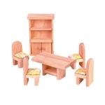 ★PLAN TOYSの木製玩具(木のおもちゃ)★9012★ クラシックダイニングルーム