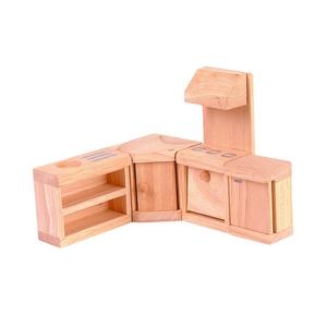 PLAN TOYS(プラントイ) ★木製玩具(木のおもちゃ)★9013★ クラシックキッチン - 拡大画像