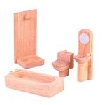 ★PLAN TOYSの木製玩具(木のおもちゃ)★9014★ クラシックバスルーム